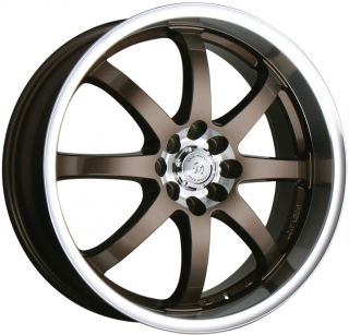 18 Wheel Rim Honda Accord Civic Fit CRX Integra Yaris Sentra 4x100