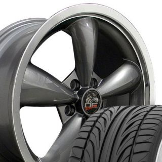 20 Rims Fit Mustang Bullitt Deep Dish Wheels Falken FK452 Tires 05 and