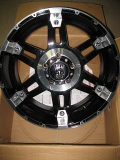 20 KMC XD Series XD797 Spy Black Wheel Rim 20x9 5x5 5 5x139 7