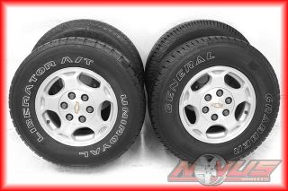 Chevy Silverado Tahoe GMC Sierra Yukon Alloy Wheels Tires 17 18