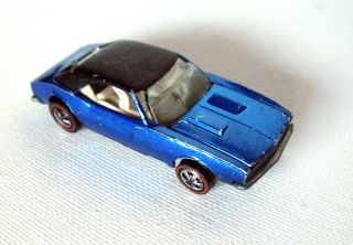 Custom Camaro Blue Oddball Pre Production Redline Hot Wheels