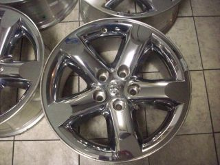 20 Dodge RAM 1500 Factory Chrome Wheels Rims