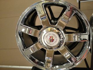 Cadillac Escalade Factory Chrome Wheels 7 spoke Rims, EXT, ESV, 6x5.5