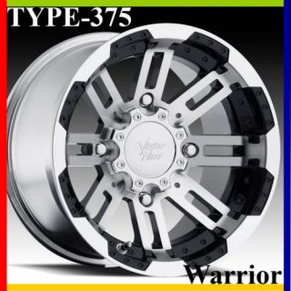 14X7 4x110 4 3 Vision Warrior Aluminum ATV Rim Wheel