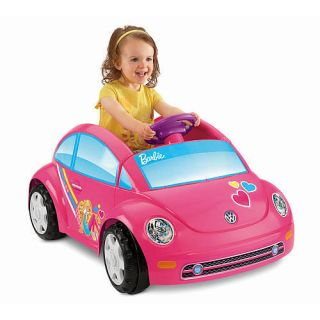 Power Wheels Fisher Price Volkswagen Beetle Ride on Barbie