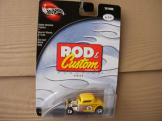 Hot Wheels Rod Custom Magazine 32 Ford 3 Window Coupe