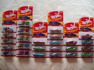 2007 Hot Wheels Classics Series 3 Complete Variation Set of 137 Cars