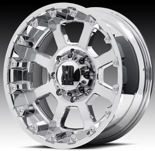 17 inch 17x9 XD Chrome Wheels Rims 5x5 5 5x139 7 Dodge RAM 1500 Ford