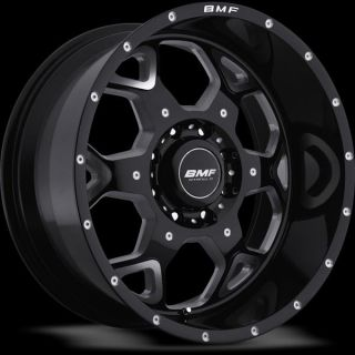 20 inch 20x9 BMF Sota Gloss Black Wheel Rim 8x6 5 8x165 1 Avalanche