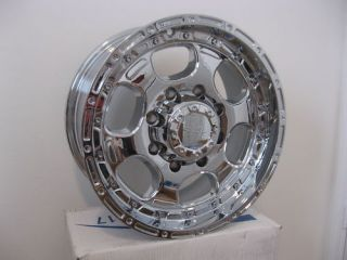 17 inch FORD 8 LUG 8x170 TRUCK RIMS WHEEL CHROME F250 F350 SUPERDUTY