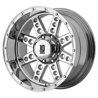 KMC XD Diesel Chrome Wheel Rim s 8x165 1 8 165 1 8x6 5 17 9