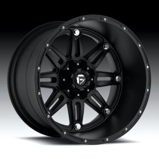 18 Fuel Offroad Hostage Wheel Set XD Black 18x9 Rims