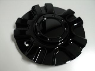 Gio 729 Black Wheel Center Cap 729L170