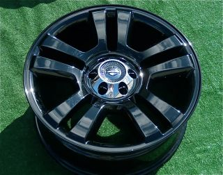 NEW Genuine OEM Ford Harley Davidson F150 Custom BLACK 22 inch WHEELS