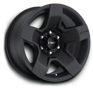 17 Method Race Wheels Fat Five Wheel Set 17x8 5 Matte Black 5 6 8 Lug