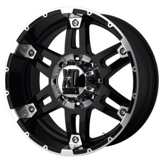 XD79779013312N 17x9 12mm Offset 5x135 G Black Mach Single Rim