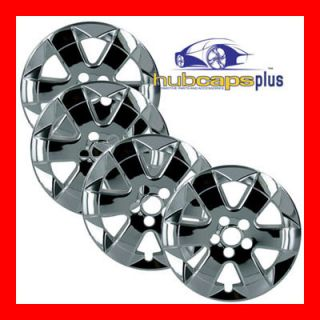 Prius 15 Chrome Wheel Skins Hubcaps Covers Hub Caps