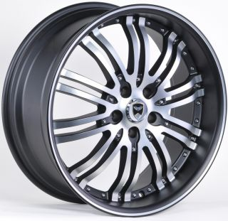 G22 20 Black Machine Face Wheels Rims Chrysler 200 300 300C AWD 300M