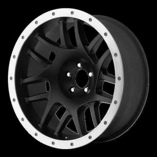NEW XD123 BULLY BLACK 16x8 WHEELS TIRES 8 LUG CHEVY 2500 285 75 16