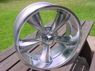 20x8 5 Streeter Polished Chevy GMC Truck Impala Caprice Roadmaster