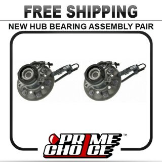 New Premium Front Wheel Hub Bearing Assembly Units Pair Set for Left