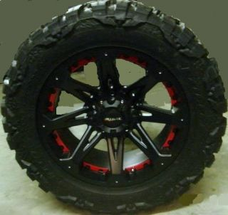 18 Ballistic Jester Rim Tire Nitto Mud Grappler 35