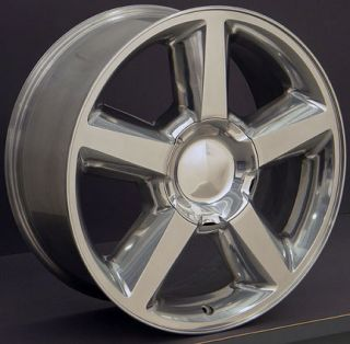 Tahoe Suburban Silverado 20  Factory Wheel Rim 5308 Polished