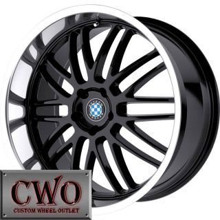 17 Black Beyern Mesh Wheels Rims 5x120 5 Lug CTS BMW 1 3 Series Acura