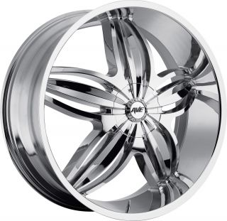 Avenue Wheels A609 20 Chrome Wheel Tire Package