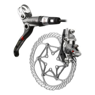 Avid SRAM XX Disc Brake 185mm Front w/ Left Hand Lever   Gray/Black