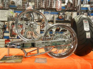Hayabusa Chrome 240 Fat Tire Kit with 240 Chrome Shark Wheels