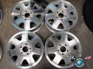02 03 Kia Sedona Factory 15 Wheels Rims 74558 K9965 56 6050