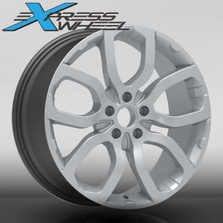 Evoque style New Alloy Wheels Rims Silver Range Discovery Stormer