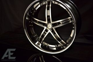 Mercedes SL63 SL65 CLS550 Wheels/Rims and Tires Fairlady Diamond Cut
