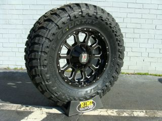 18 XD Bomb XD806 Black 285 75R18 285 75 18 Toyo Open Country MT 35