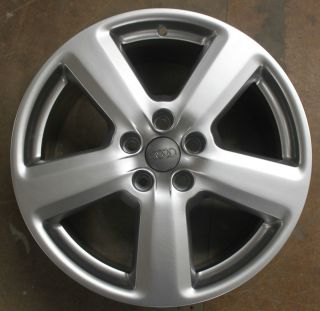 One Audi A4 A6 18 5 Spoke Alloy Wheel Refurbished 8J Front or Rear s