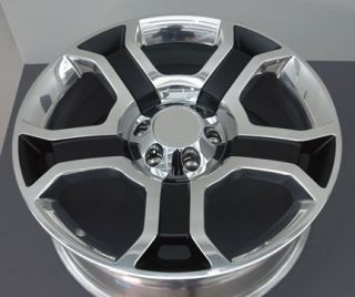 Ford Harley Davidson F150 22 Wheel 3750 Rim Polished w/ black pockets