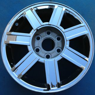 2008 2009 CADILLAC ESCALADE EXT ESV 18 FACTORY WHEEL RIM CHROME 5303B