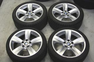 Factory BMW E90 335i Sport 18 Wheels Winter Snow Tires E92 330i 328i