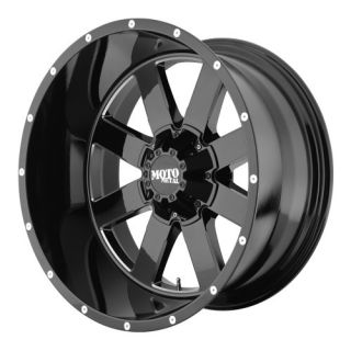 MO962 MO96222486376N 22X14 76MM OFFSET 5X5 5 G BLACK MACH SINGLE RIM