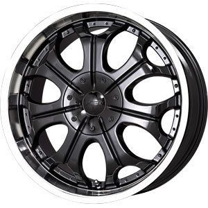 New 20x9 5x114 3 5x120 65 V Tec Black Wheels Rims