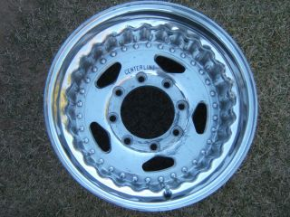Centerline T330 Alloy Wheel Rim 16 5 x 9 75 Ford 8 Lug F250 F350 Weld