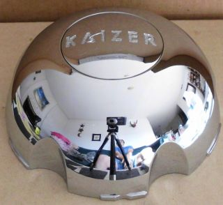 Kaizer Wheels Chrome Custom Wheel Center Cap Caps 1