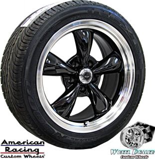 AMERICAN RACING TORQ THRUST WHEELS RIMS / TIRES FORD MUSTANG 1967 1973