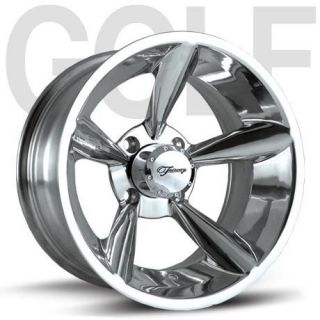 Fairway Alloys Bullet Hand Polished Golf Cart 4 Wheels Rim 12x7