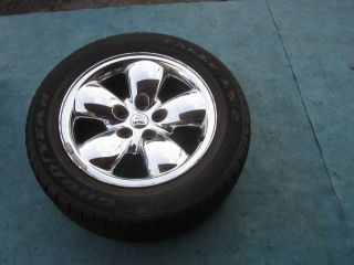 20 Dodge RAM Wheel Rim Tire Spare 275 55 20 Goodyear