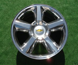 Chevy Tahoe Suburban Polished 20 in Wheel Rim 5308