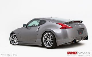 VMR V710 Hyper Silver Wheels Rims Fit Nissan 350Z 370Z