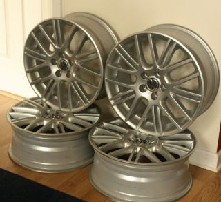 VW Exor Wheels 17x7 Set of 4 Alloy Rims Used in Great Condition
