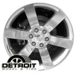 GMC Envoy Trailblazer Factory Wheel Rim 5254 Chrome 2006 2009